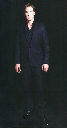 """Benedict Cumberbatch Benedict in """"FLIX"""" Magazine (04/2013) -"""