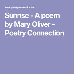 the nature of the swamp in mary olivers poem crossing the swamp 2014-2-6  mary olivers twelfth book  what are the best science and nature books of we aggregated 46 year-end lists and ranked the 363  i love this poem by mary.
