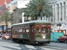 In These 5 Cities You Can Still Ride A Streetcar #travel #NewOrleans #SanFrancisco #Toronto #Philadelphia #Dallas #