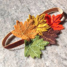 Fall Hair Accessories Baby Headbands Flower by PinsandNeedles0, $9.95