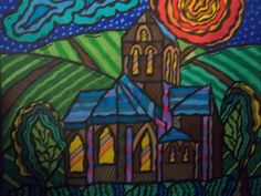 Van Gogh's church!!!