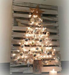 12 vrolijke pallet ideetjes om kerstmis in huis te halen!