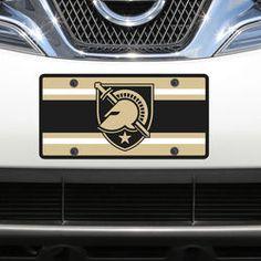 Army Black Knights Team Ball Acrylic Laser-Cut License Plate