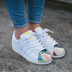 Adidas superstar supershell - love these from Todd James