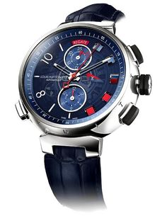 #LouisVuitton #Tambour #Sailing Watch - Official sponsor of America's Cup 2013 - international sailing spectacle at San Francisco