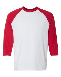 Baseball Tee Outfits, Raglan Baseball Tee, Raglan Shirts, Baseball Shirts, Disney Shirts For Family, Family Shirts, Types Of Sleeves, Sleeve Types, Red Media