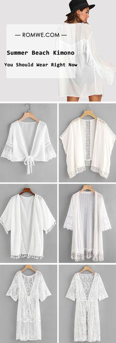 Summer Beach Kimono – You Should Wear Right Now – Summer Dresses – Hijab Fashion 2020 Outfits Winter, Summer Dress Outfits, Beach Outfits, Beach Dresses, Beach Ootd, Beach Casual, Dress Summer, Hijab Fashion Summer, Muslim Fashion