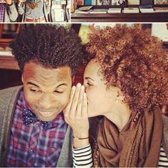 aww natural couples!