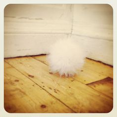 From the atelier of House Inertia / maison inertie, our pure white Tulle Sputnik. Holding it's own in the gallery.
