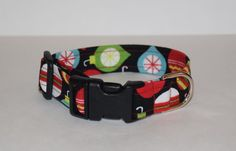 Christmas Ornament Dog Collar // Handmade & by PawesomePups