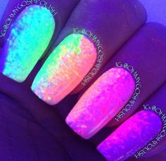 Glow in the dark stuff!!!<3