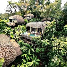 Keemala, Phuket, Thailand. The resort is positioned in the hills and surrounded by an enchanted canopy of rainforest. Villas are connected all together by a network of jungle walkways, complete with outdoor terraces and private pools See Instagram photos and videos from We ♥ Hotels (@we.love.hotels)