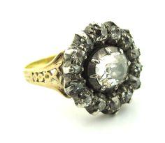 Georgian Era Cluster Ring