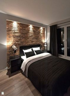 Bedroom Design Inspiration & 2 great designs that will inspire you! # The post Bedroom Design Inspiration Bedroom Colors, Bedroom Sets, Home Decor Bedroom, Bedroom Furniture, Girls Bedroom, Man's Bedroom, Bachelor Bedroom, Bedroom Headboards, Bedroom Interiors