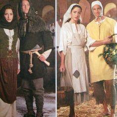 Simplicity-Renaissance-Costume-Patterns-Men-Women-Teen-XS-S-M-L-XL-Uncut-Peasant