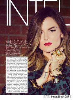 Joanna Jojo Levesque - ELLE Magazine (October 2015)