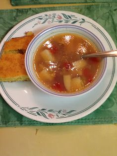 Winter Vegetable  Trisha Yearwood   I used regular Idaho potatoes and i can of butter beans instead of lima beans. love this soup (sometimes i add more chicken broth.)