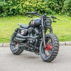 Harley Davidson Sportster By Shaw Speed And Custom #harleydavidsonsporster