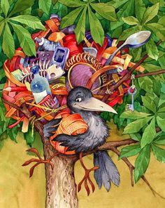 ilustración de Miks Valdbergs