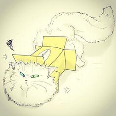 Have a nice weekends!  #dailydrawing #drawing #catdrawing #cat #dailydrawings #drawings #catdrawings #cats #냥그림 #냥스타그램 #캣스타그램 #catstagram #neko #고양이 #猫 #ねこ #gato #고양이그림 #instacat #catsta #catsofinstagram #하루한장#취미로고양이그리는아줌마