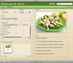 Organizador Familiar, incluye un planificador de menús para una dieta más equilibrada, lista de la compra, cuadro de tareas, y rutinas semanales.