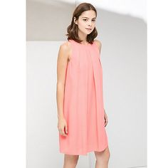 Buy Mango Halterneck Circle Patterned Dress Online at johnlewis.com