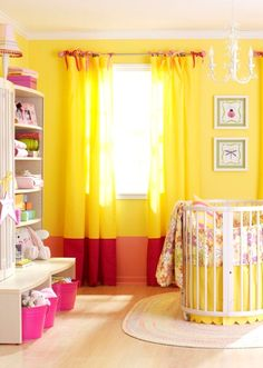 Kids Room Curtains Daughters Color Schemes Ideas For 2019