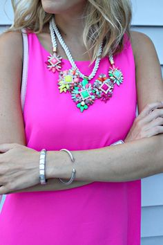 Bauble Bar Neon Necklace