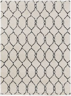 Surya SWT4023 Swift Black, Neutral Rectangle Area Rug