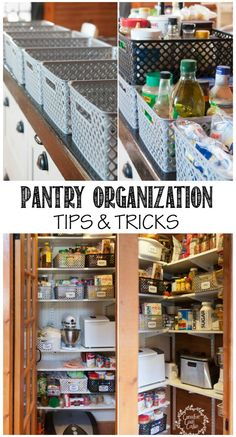Tips and Trick for Organizing a Pantry | CreativeCainCabin