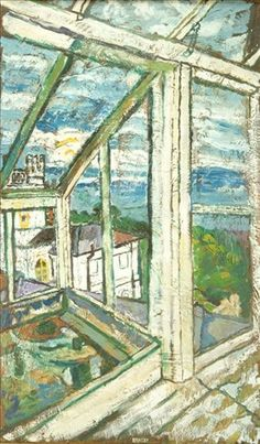 JOHN RANDALL BRATBY Through the Conservatory Window (Reaching to the Sea by the East Ridge)