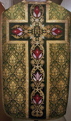 NEG022-21  Chasuble  Dutch  Date: c. 1890-1920