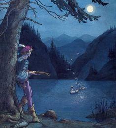 "Trina Schart Hyman «Swan Lake»   ""Картинки и разговоры"""