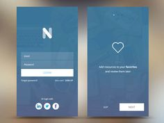35 Examples of Mobile Apps Login Screen UI for Inspiration