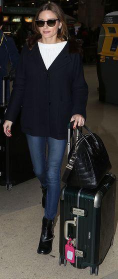 Olivia Palermo's travel style