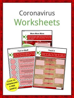 This is a fantastic bundle which includes everything you need to know about the Coronavirus across 21 in-depth pages. These are ready-to-use Coronavirus worksheets that are perfect for teaching students about the Coronavirus disease (COVID-19), discovered in 2019, which is a new strain of disease caused by coronaviruses (CoV). Capacity Worksheets, Chemistry Worksheets, Homeschool Worksheets, Money Worksheets, Printable Worksheets, Main Idea Worksheet, Adjective Worksheet, Middle School Health, Relative Pronouns