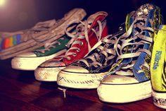 i love old converse
