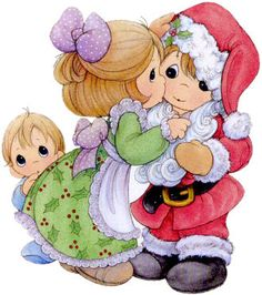 Donna uploaded this image to 'Precious Moments/Christmas'. See the album on Photobucket. Precious Moments Quotes, Precious Moments Coloring Pages, Precious Moments Figurines, Christmas Clipart, Christmas Pictures, Christmas Art, Sarah Kay, Christmas Illustration, My Precious