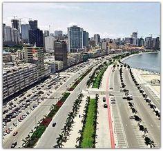 Angola Paises Da Africa, Across The Border, African Nations, Atlantic Beach, Culture, Skyline, Australia, River, World