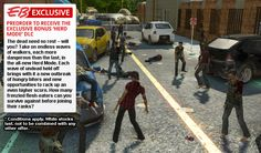 Walking dead game for the Wii U The Walking Dead, Call Of Duty Zombies, Survival Instinct, Zombie Apocalypse, Wii U, Games To Play, Monster Trucks, Abandoned, Zombies