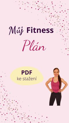 Můj Fitness Plán - PDF ke stažení zdarma na jindrovka.cz/fitness How To Plan, Movies, Movie Posters, Films, Film Poster, Cinema, Movie, Film, Movie Quotes