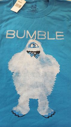 Rudolph The Red- Nosed Reindeer BUMBLE Abominable Snowman T- Shirt Size Youth S #FruitoftheLoom #Everyday