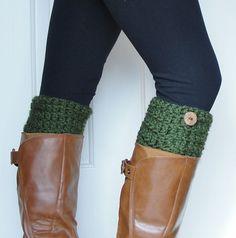 Crochet Boot Cuffs- Mom??
