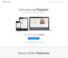 Launchpad Free #Responsive #HTML5 #CSS3 #Mobileweb Template