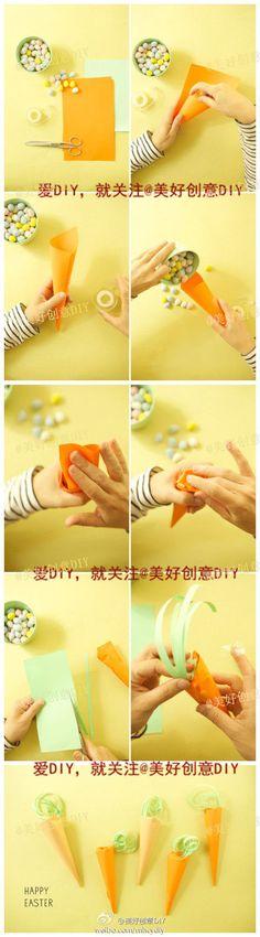 DIY Carrot Candy Box DIY Projects / UsefulDIY.com
