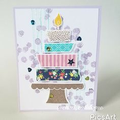 Handmade birthday card for a tween girl made with the birthday handmade birthday card for girl using the build a birthday gorgeous grunge and playful backgrounds stamp sets from stampin up and washi tape by card m4hsunfo
