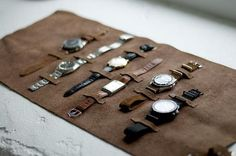 Take your watches on-the-go