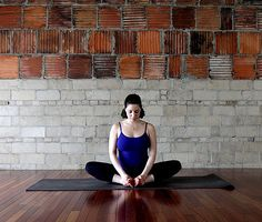 Yoga poses for pregnant women.