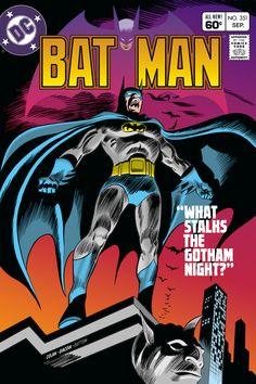 Batman No. 351 by Gene Colan and Frank Giacoia, Sep DC Comics Comic Book Superheroes, Marvel Comic Books, Batman Comics, Dc Comics, Nightwing, Batgirl, Batman Family, Classic Comics, Detective Comics