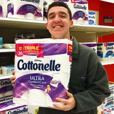 """""""#Joy is buying the good kind of toilet paper before you run out. #rethinkchurch"""""""